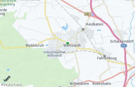 Stadtplan Wahlstedt
