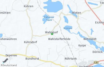 Stadtplan Wahlstorf (Holstein)