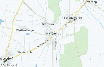 Stadtplan Wahrenholz