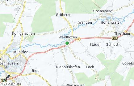 Stadtplan Waidhofen