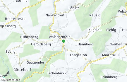 Stadtplan Waischenfeld