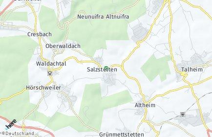 Stadtplan Waldachtal