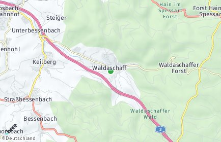Stadtplan Waldaschaff