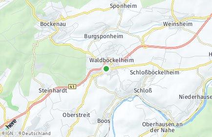 Stadtplan Waldböckelheim