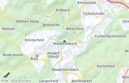 Stadtplan Waldbreitbach