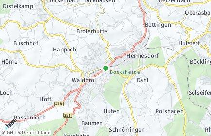 Stadtplan Waldbröl