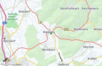 Stadtplan Waldems