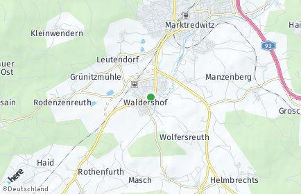 Stadtplan Waldershof