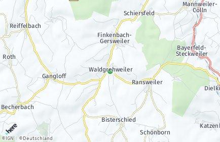 Stadtplan Waldgrehweiler