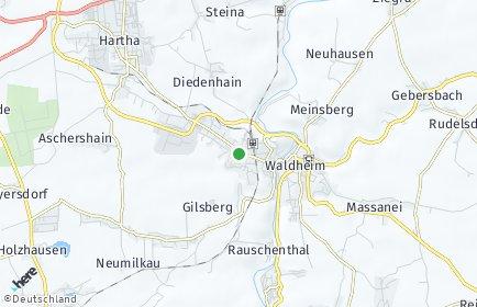 Stadtplan Waldheim