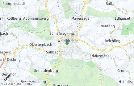 Stadtplan Waldkirchen