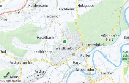 Stadtplan Waldkraiburg