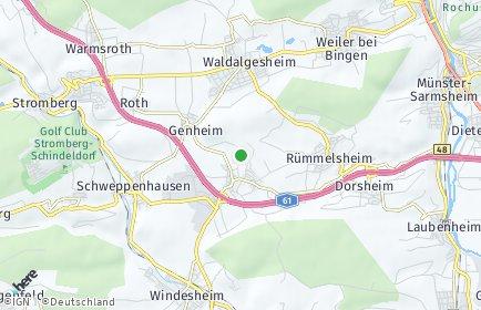 Stadtplan Waldlaubersheim