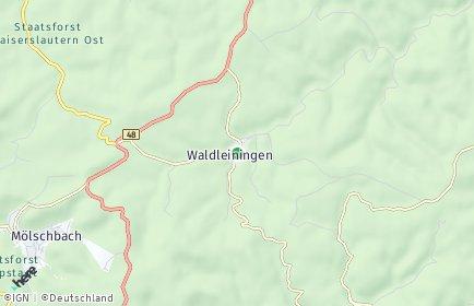 Stadtplan Waldleiningen
