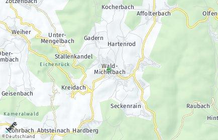 Stadtplan Wald-Michelbach
