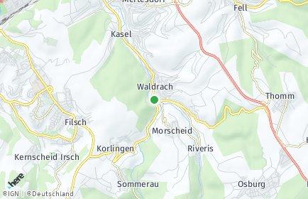 Stadtplan Waldrach