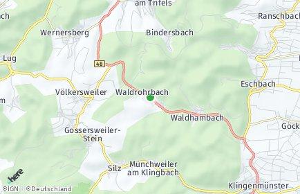 Stadtplan Waldrohrbach