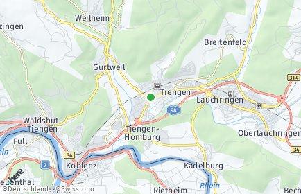 Stadtplan Waldshut-Tiengen