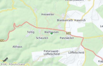 Stadtplan Walhausen