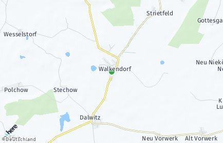 Stadtplan Walkendorf