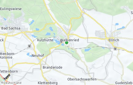 Stadtplan Walkenried