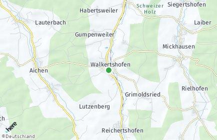 Stadtplan Walkertshofen