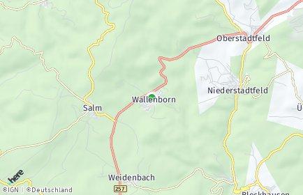 Stadtplan Wallenborn