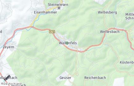 Stadtplan Wallenfels