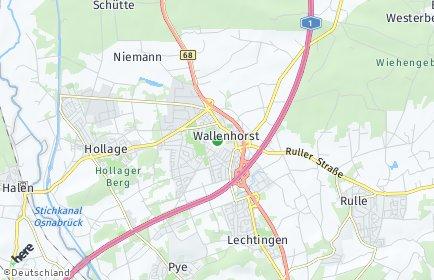 Stadtplan Wallenhorst