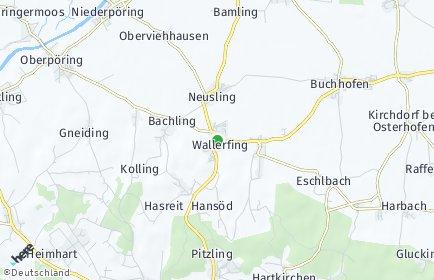 Stadtplan Wallerfing