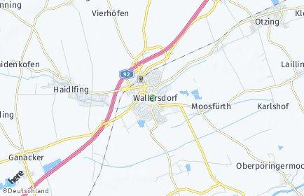Stadtplan Wallersdorf