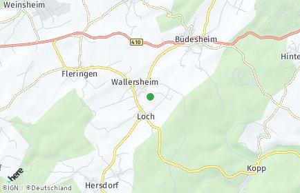 Stadtplan Wallersheim