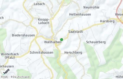 Stadtplan Wallhalben