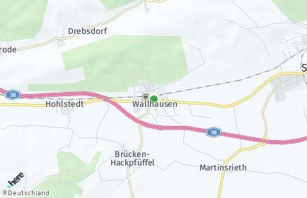 Stadtplan Wallhausen (Helme)