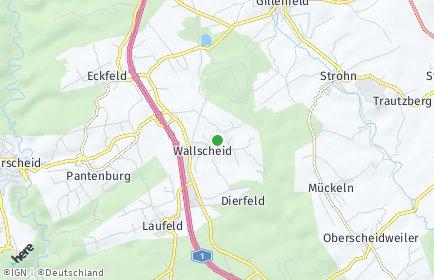 Stadtplan Wallscheid