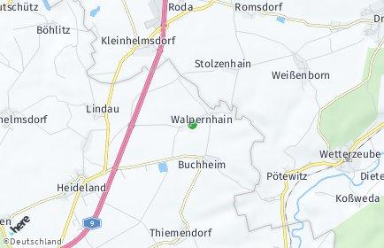 Stadtplan Walpernhain
