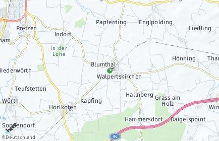 Stadtplan Walpertskirchen