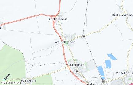 Stadtplan Walschleben