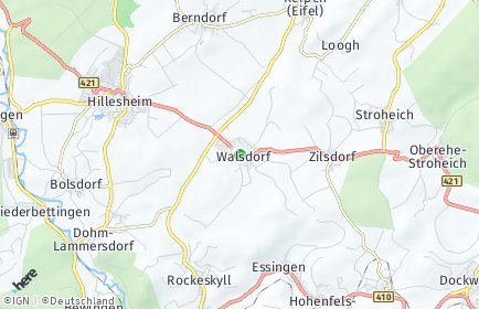 Stadtplan Walsdorf (Eifel)