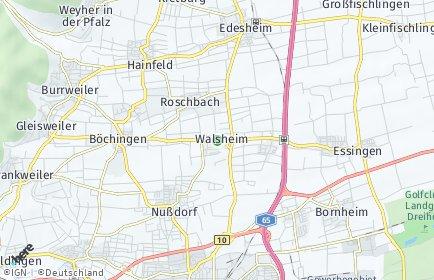 Stadtplan Walsheim
