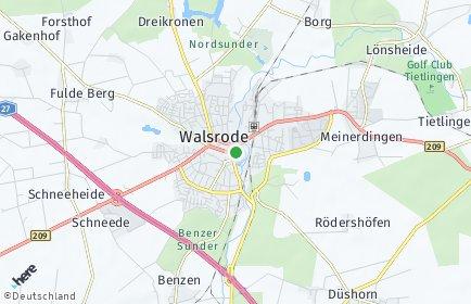 Stadtplan Walsrode OT Hünzingen