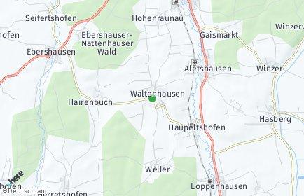 Stadtplan Waltenhausen