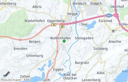 Stadtplan Waltenhofen