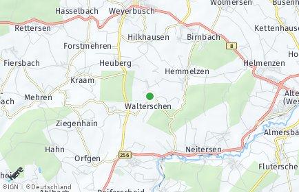 Stadtplan Walterschen