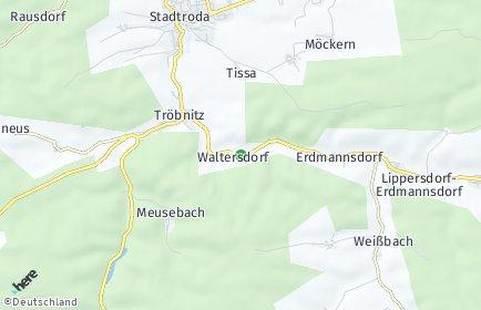 Stadtplan Waltersdorf (Thüringen)