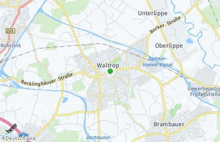 Stadtplan Waltrop OT Oberwiese