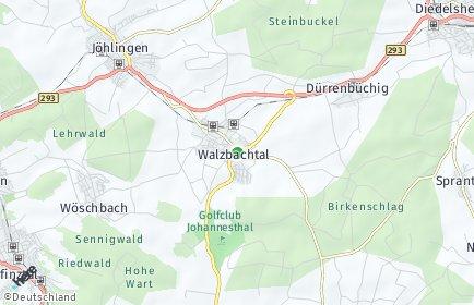 Stadtplan Walzbachtal