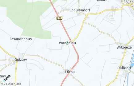 Stadtplan Wangelau