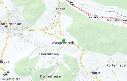 Stadtplan Wangelnstedt