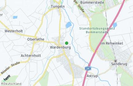 Stadtplan Wardenburg